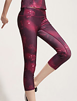 Running Bottoms / Crop / 3/4 Tights Women's Breathable / Quick Dry / Compression / Lightweight Materials / Sweat-wicking PolyesterYoga /