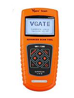 VS600 lector de códigos OBD 2 es adecuado para el instrumento de diagnóstico del coche del detector del coche de Audi de las masas