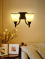 AC 100-240 2*60w E26/E27 Rustic/Lodge Painting Feature for Mini Style,Ambient Light Wall Sconces Wall Light