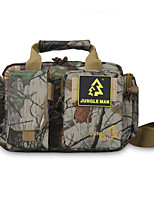 8 L Shoulder Bag Camping & Hiking Outdoor Waterproof / Shock Resistance Camouflage Oxford
