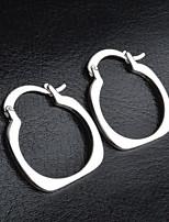 Stud Earrings Women's Brass Earring Non Stone