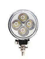 12w llevó la lámpara pequeño sol bienes de la luz de la lámpara de trabajo de maquinaria de construcción de 3 pulgadas auxiliar de
