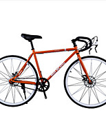 XHING Fixed Gear Bikes Single Speed Disc Brakes