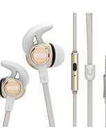 UiiSii GT800 In-Ear Earbuds Earphones with Stereo Sound Noise-isolating Mic Control for Smartphone