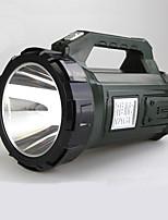 Linternas LED LED 2 Modo 350 LumensA Prueba de Agua / Recargable / Resistente a Golpes / Empuñadura Anti Deslice / Visión nocturna /
