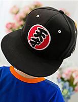 Girls Hats & Caps,All Seasons Cotton Blends Black