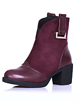 Women's Shoes    Heels / Fashion Boots Boots Outdoor / Office & Career / Casual Chunky Heel OthersBlack /  &L808