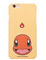 poche peu charmander 5,5 pouces couverture iphone 6p / 6splus dur tapis de téléphone portable monstre