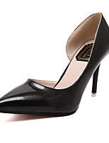 Women's Heels Summer Heels PU Casual Stiletto Heel Others Black / Silver Others