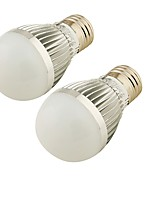 YouOKLight 2PCS E27 3W 250lm 6000K 6-SMD 5730  Warm White/White Light LED  Bulb Lamp (100-240V)