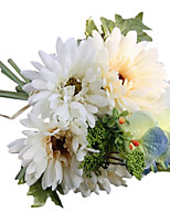 Silk / PU Daisies Artificial Flowers