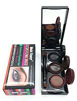Eyeliner Crème Humide Longue Durée / Etanches / Naturel / Séchage rapide Noir / Marron Yeux 1 3 PAYS DE COULEUR