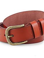 Men Faux Leather Waist Belt,Vintage / Party / Work / Casual Alloy / Leather P3D1P1K5