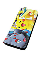 Pocket Little Monster Cartoon Pika Pika Zipper Long Purse