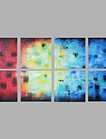 8 Sets Group Acrylic Painting Modern Wall Decor
