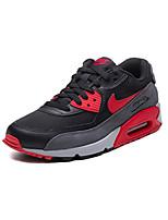 Zapatos Running Cuero / Tul Negro y Rojo / Negro y Blanco Hombre