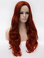 les nouveaux personnages perruque anime cos classification de volume de 30 pouces dans les cheveux de vin rouge