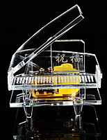 Fashion Crystal Piano Music Box