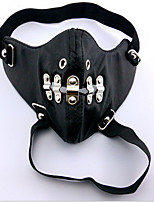 Tokyo Ghoul Black Rivet Mouth Mask PU Leather