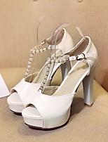 Women's Shoes Leatherette Spring / Summer  / Platform / Slingback / Gladiator / Comfort / Novelty / Styles / Open Toe