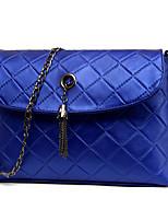 Women-Formal / Casual / Office & Career / Shopping-PU-Shoulder Bag-White / Purple / Blue / Black