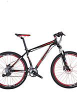 Mountain Bike Men's Women's Air Suspension Fork Double Disc Brake  Aluminium Alloy 27 Speed 26 Inch Zc302
