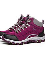 Women's Shoes Faux Suede Spring Comfort Athletic Flat Heel Purple / Fuchsia