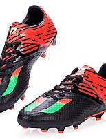 Herrenschuhe-Sportlich-Sneaker-PVC-Blau / Grün / Rot / Orange