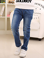 Boy's Cotton Spring/Fall Fashion Style Elastic Jeans Casual Denim Trousers