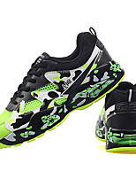 Men's Shoes Tulle Athletic Shoes Basketball Lace-up Blue / Green / Black and Red / Black and White