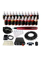One Tattoo Tattoo Tattoo Kit(Set the Handle Random Hair Color)