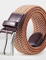 Unisex Canvas Waist Belt,Vintage / Party / Work / Casual Alloy D6B1P513