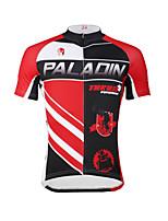 PALADIN Ciclismo Top Per uomo BiciclettaTraspirante / Resistente ai raggi UV / Asciugatura rapida / Compressione / Materiali leggeri /
