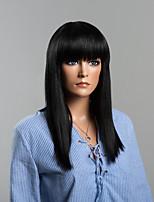 à long cheveux remy mode droite perruques de cheveux humains