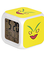 Poke Ball Colorful Flash Cartoon Alarm Clock-33#