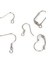 Beadia 290Pcs Stainless Steel Earring Hook Jewelry Findings Fit Necklace & Bracelet(Mixed 5 Styles)