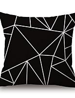 Coton/Lin Housse de coussin,Géométrique / Imprimés Photos Moderne/Contemporain / Décontracté