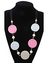 Fashionista Circle Necklace Ladies Jewelry Institute Of Wind