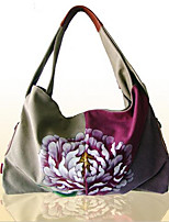 Women-Formal-PVC-Tote-Purple