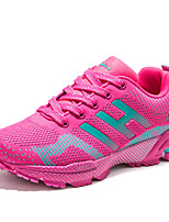 Men's Shoes Tulle Outdoor / Casual Sneakers Outdoor / Casual Walking Flat Heel Others / Lace-upBlue / Pink /