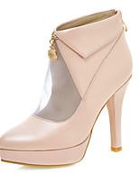 Women's Shoes Fall Heels / Platform / Pointed Toe Boots Party & Evening / Dress / Casual Stiletto Heel Zipper