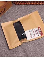 Fine Cotton Socks Kraft Paper Bags Kraft Ziplock Bags