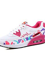Women's Sneakers Summer Flats Tulle Braided Strap Black / Purple / White Running