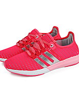 Women's Shoes Tulle Spring / Summer / Fall Comfort Athletic Flat Heel Blue / Fuchsia