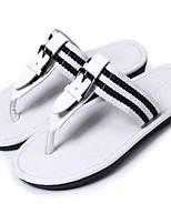 Zapatos de Hombre-Sandalias-Exterior / Deporte-Semicuero-Negro / Azul / Marrón / Blanco