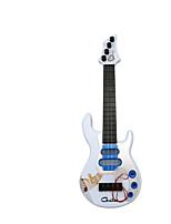 Guitar White String Musical Instrument Label