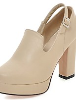 Women's Shoes Chunky Heel Heels / Platform / Round Toe Heels Office & Career / Party & Evening / Dress
