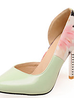 Women's Shoes Stiletto Heel Pointed Toe Flower Printed Pumps Shoes More Colors Available