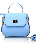 Women-Casual / Outdoor-Cowhide-Shoulder Bag-Pink / Blue / Gray / Black