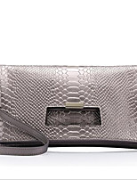 Women-Formal-PU-Shoulder Bag-Silver